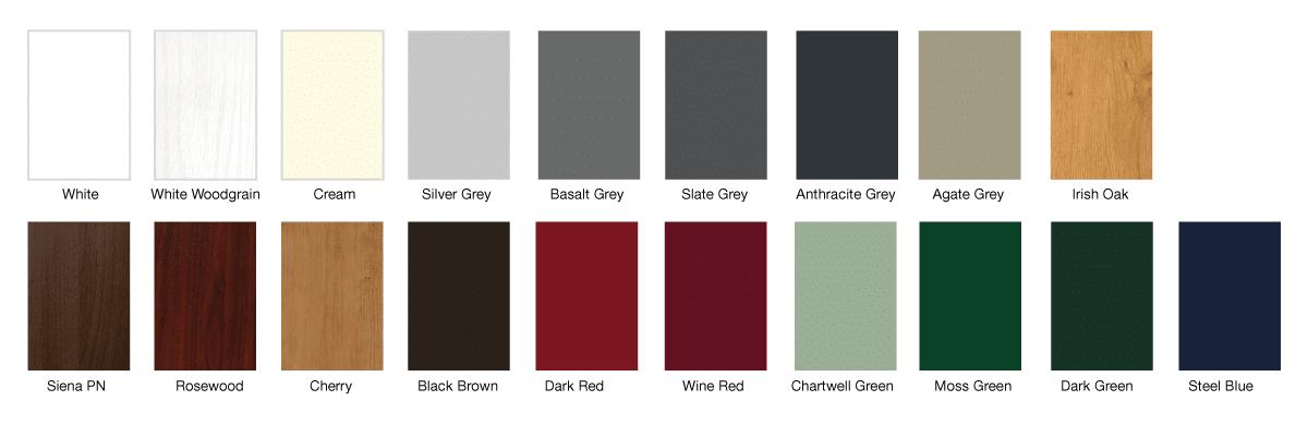 Upvc Window Colours : Colours st helens windows doors