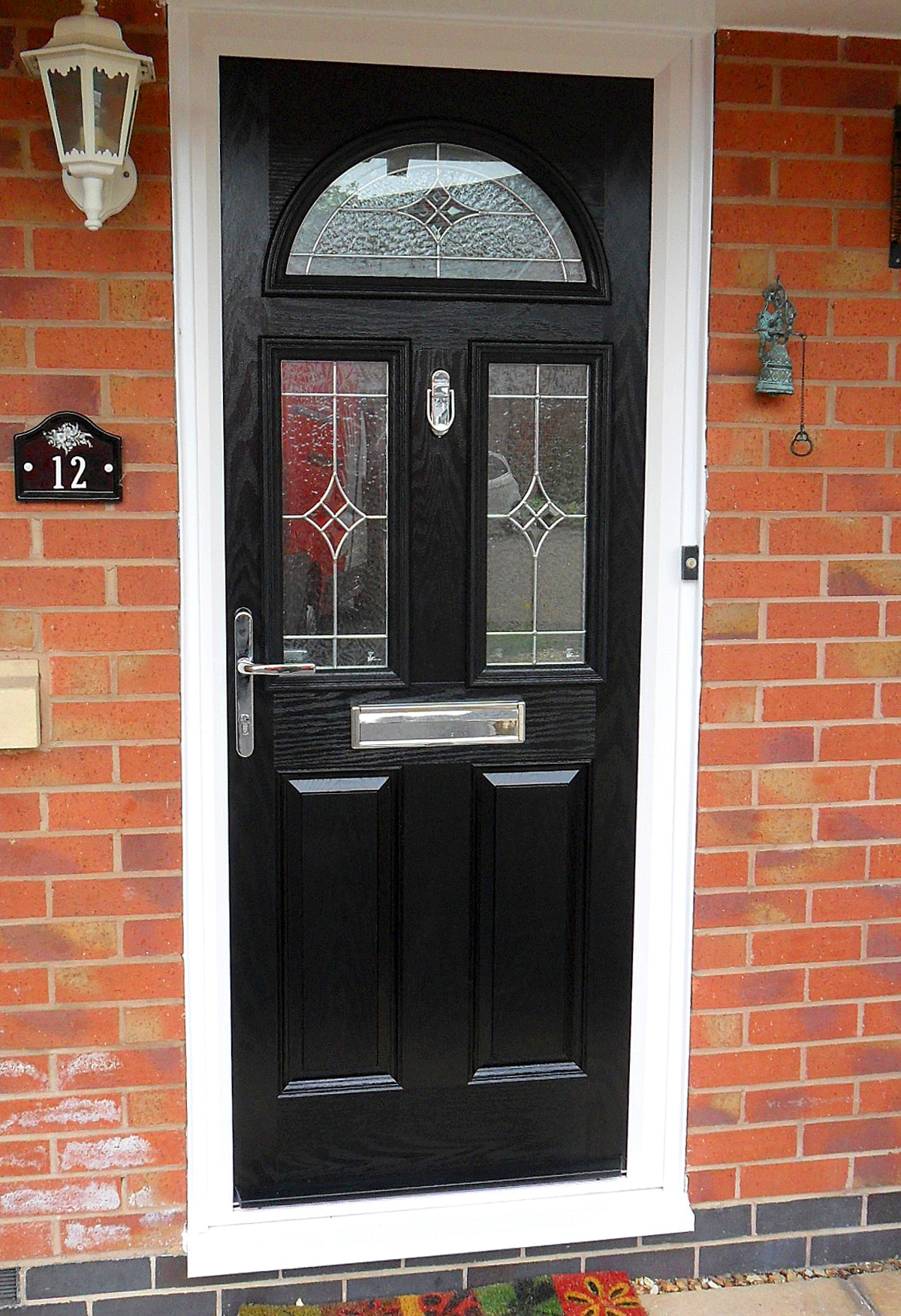 Upvc doors exterior front back doors st helens windows for Upvc front door 78 x 30