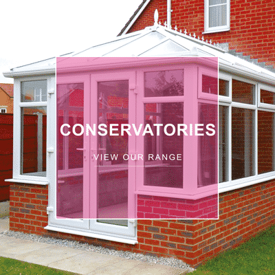Conservatory with PVCu Windows