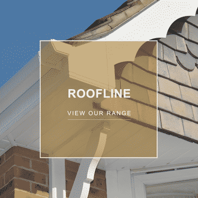 Roofline fascias soffits and gutters PVCu