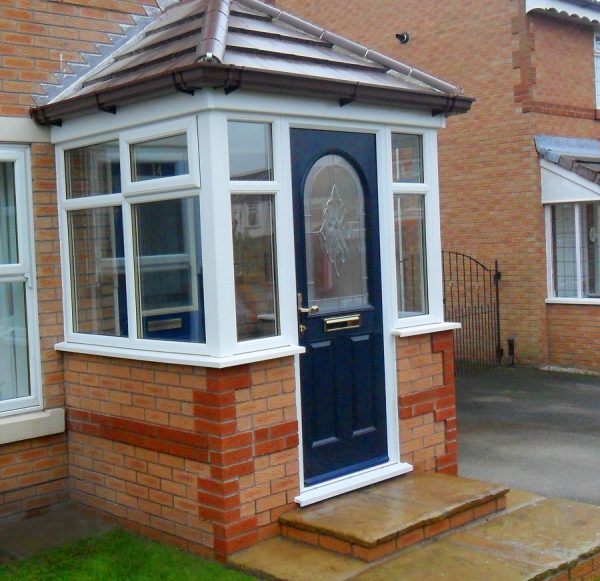 uPVC porches quote available