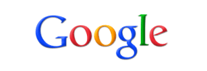 Google logo on SHW