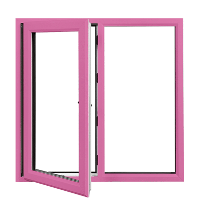 coloured profile frame unit