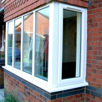 White vented window replacement