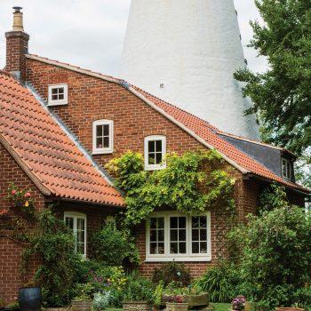 cottage with casement windows