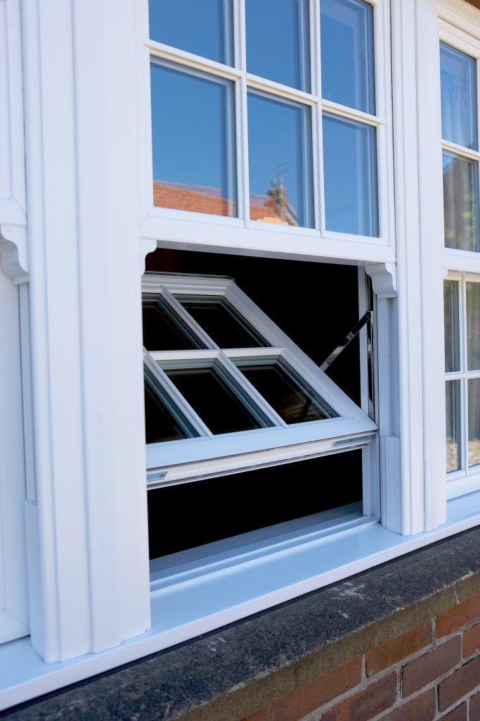 upvc or timber sash windows