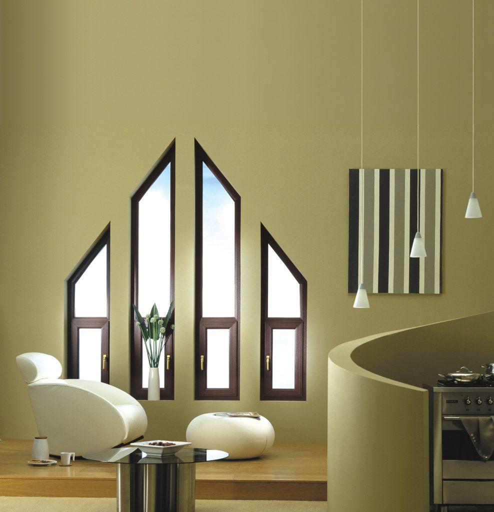 bespoke designed wood window