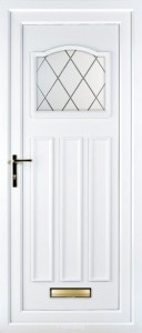 llyod white upvc door