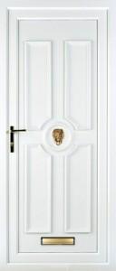 old field PVC Door
