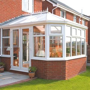 conservatory PVCu frames