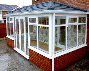 conservatory solid roof tiles