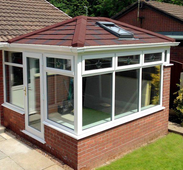 lightweight roofed conservatory