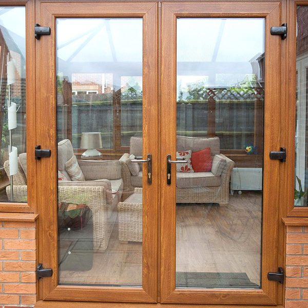 Wood French Door