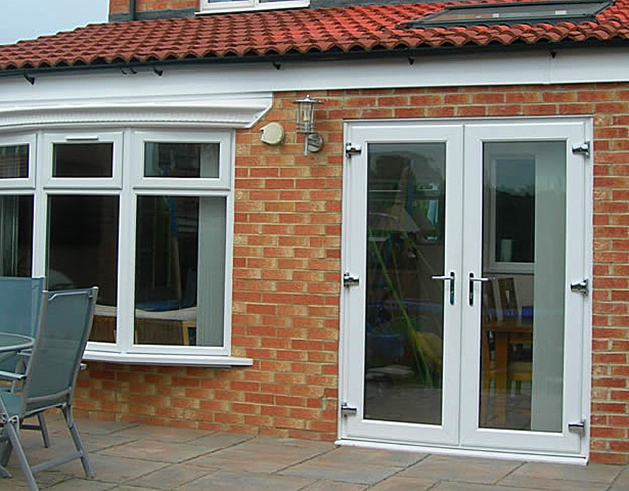 French doors exterior french doors st helens windows for Double patio door width