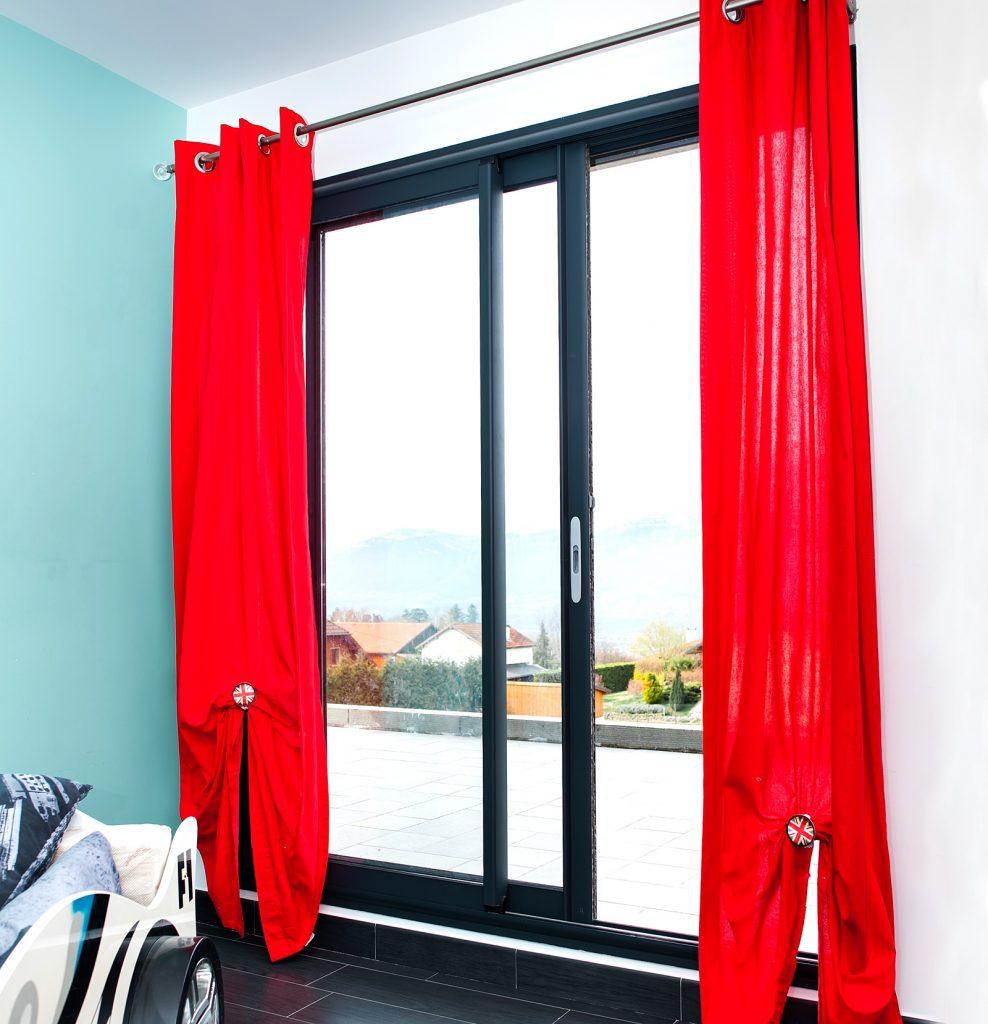 Black Patio Doors