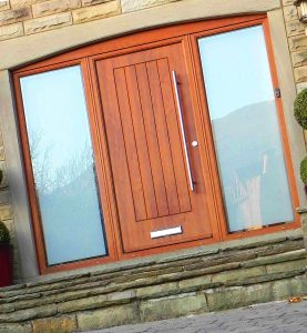 large double panel oak RockDoor