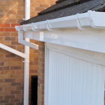 gutters white