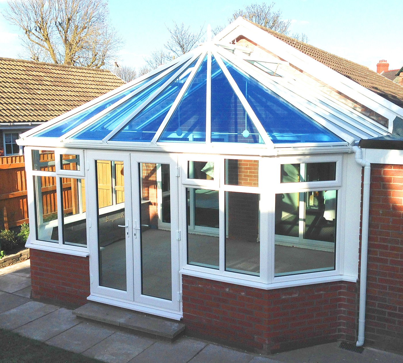 Glass Roof Conservatory - Glass Options | St Helens Windows