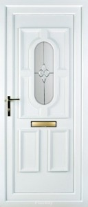 westwood white upvc door
