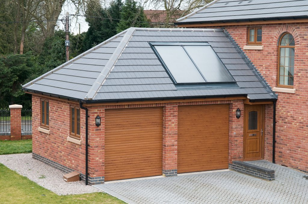 Conservatory Solid roof tiled