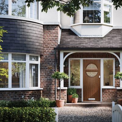 1930s style solidcore door