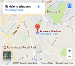 St Helens Home Improvements map