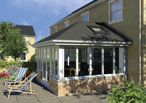 lightweight tiled roof conservatory