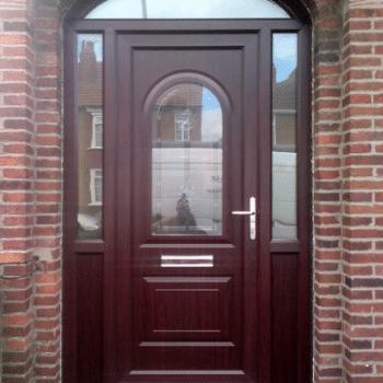 brown upcv doors