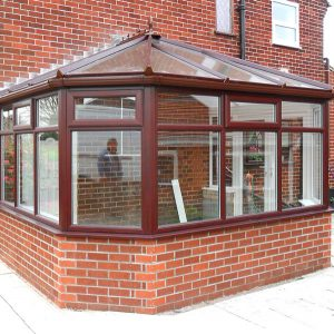 Rosewood upvc victorian conservatory