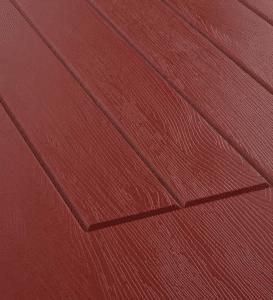 Ruby Red Rock door