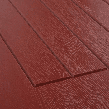 Ruby Red Rock door