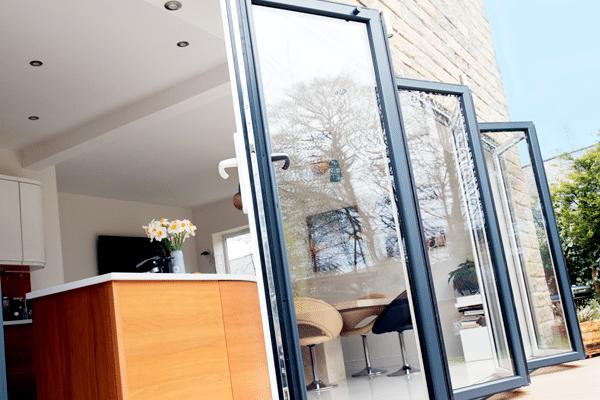 Bi Fold doors opening