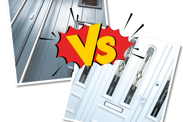 uPVC vs Composite Doors