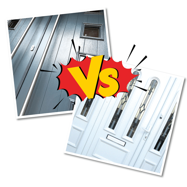 uPVC vs Composite Doors