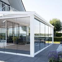 verandah white aluminium