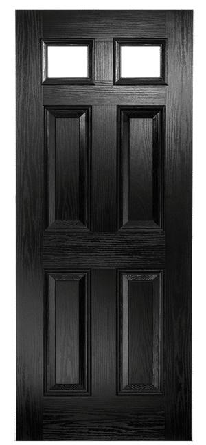 Composite Door Black Classical