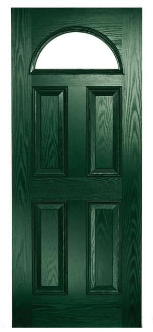 Composite Door Green Eclat Arch
