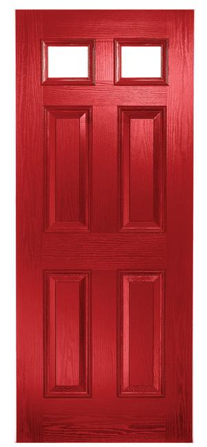 Composite Door Red Classical