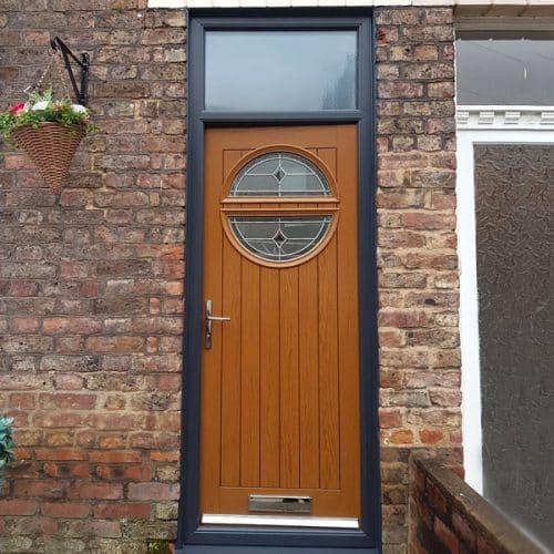 Brown Esprit door composite