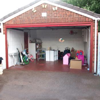 garage conversion step 1
