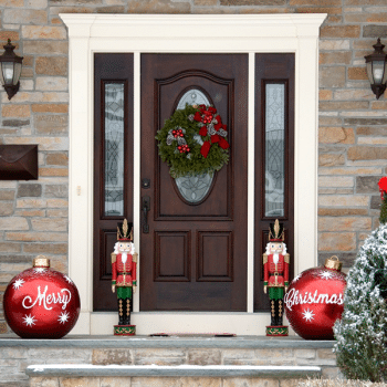 How To Decorate Your Door For Christmas