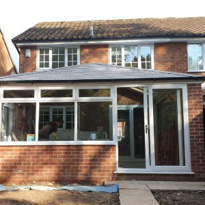 Insulation Conservatory With Solid tile Roof