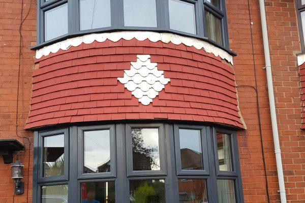 energy efficiency anthracite grey window