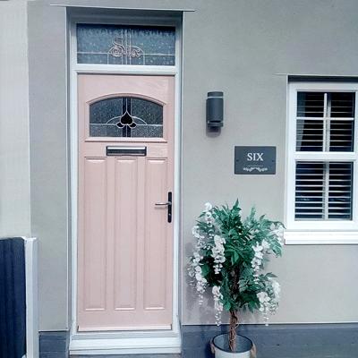 secure & energy-efficient door