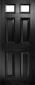 Black Classical Door